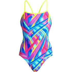 Funkita Single Strap One Piece Swimsuit Women, frickin laser